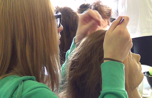 Introduction to Hairdressing Course at the Haddon Community Learning Centre